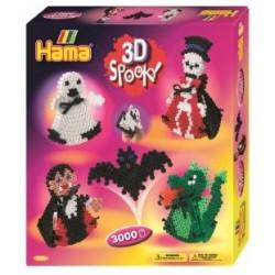 Hama 3D spooky