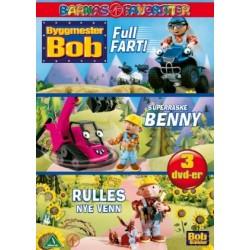 Byggmester Bob samleboks - DVD