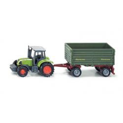 Siku traktor med henger