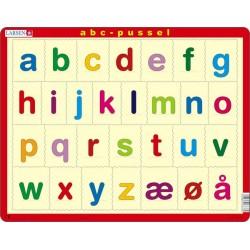 Alfabetet - små bokstaver