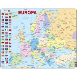 Europa - puslespill