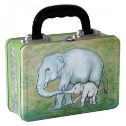 Elefant med baby - matboks